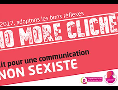 Communiqué de presse : LES COMMUNICANT.E.S, S'ENGAGENT POUR UNE COMMUNICATION NON SEXISTE !